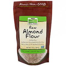 """Миндальная мука NOW Foods, Real Food """"Raw Almond Flour"""" (284 г)"""
