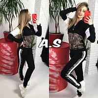 Женский модный спортивный костюм Г-13-0719