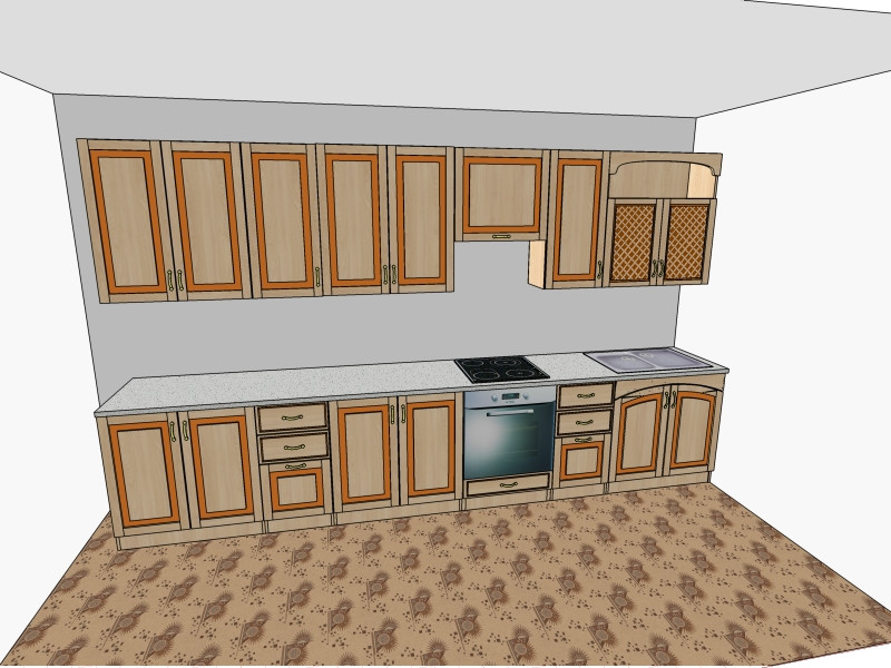 Кухня Юля Нова в Бродах