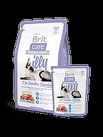 Brit Care Cat 2 kg Lilly I have Sensitive Digestion (д/кошек с чувствительным пищеварением) брит сухой корм