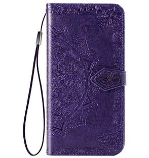 Чехол книжка NZY для Samsung Galaxy A10 / 105F Art Case ser. с визитницы Фиолетовый (973390), фото 2