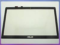 """Сенсорное стекло (тачскрин) для ноутбука ASUS VivoBook S550 S550C S550CA S550X S500 S500C S500X 15.6"""" Black"""
