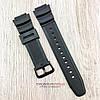 Полимерный ремешок для часов Casio ae-1000w/aq-s810w/ sgw-400h/sgw-300h черный (08084)
