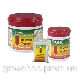 Ghe pH down Dry 250 gr Франция