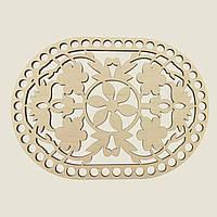 Овальное донышко для вязанных корзин Shasheltoys (100223.16) 160х230 мм