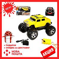 Радиоуправляемый Джип DH-8011 Желтый | игрушечная машинка хаммер | машина на пульте управления