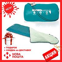 Спальный мешок 68048 sh Bestway в сумке Бирюзовый    спальник для туризма   одеяло для похода