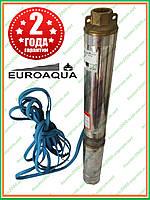 Насос для скважины 75QJD130-0.75 ( 750 Вт ) Euroaqua + пульт погружной насос центробежный