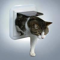 Trixie 4-Wege Freilauftur speziell fur Glas дверца для кошки 4 позиции для стеклянных дверей (38631)