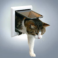 Trixie 4-Wege Freilauftur mit Tunnel дверца для кошки 4 позиции с тоннелем (3864)