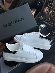 Мужские кроссовки Alexander McQueen Reflective White Black