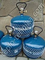 Балоны газовые  пропановые —  2кг  (Польша), Объем - 5 литров, фото 1