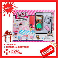 ЛОЛ Сюрприз МЕБЕЛЬ PP-667 LOL | кукла LOL Glitter Series | куколка ЛОЛ мебель