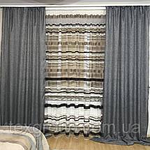 Готовые шторы с тюлью №358, фото 2