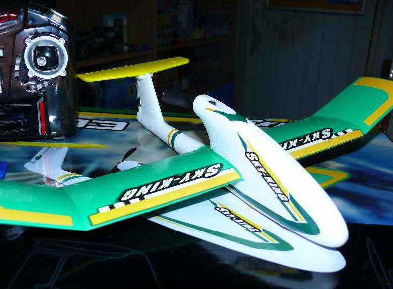 Радиоуправляемый самолет - планер мини YT-103 (размах крыла 36 см) | самолет на радиоуправлении | самолетик