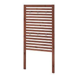 ИКЕА (IKEA) ЭПЛАРО, 802.049.27, Настенная панель, коричневый коричневая морилка, 80x158 см