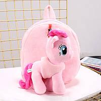 Детский рюкзак My Little Pony плюшевый со съемной игрушкой