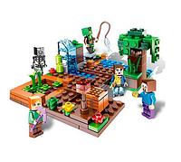 Мини конструктор фигурка для мальчиков Mineblocks 5120 B MK в коробке Майнкрафт 6 видов