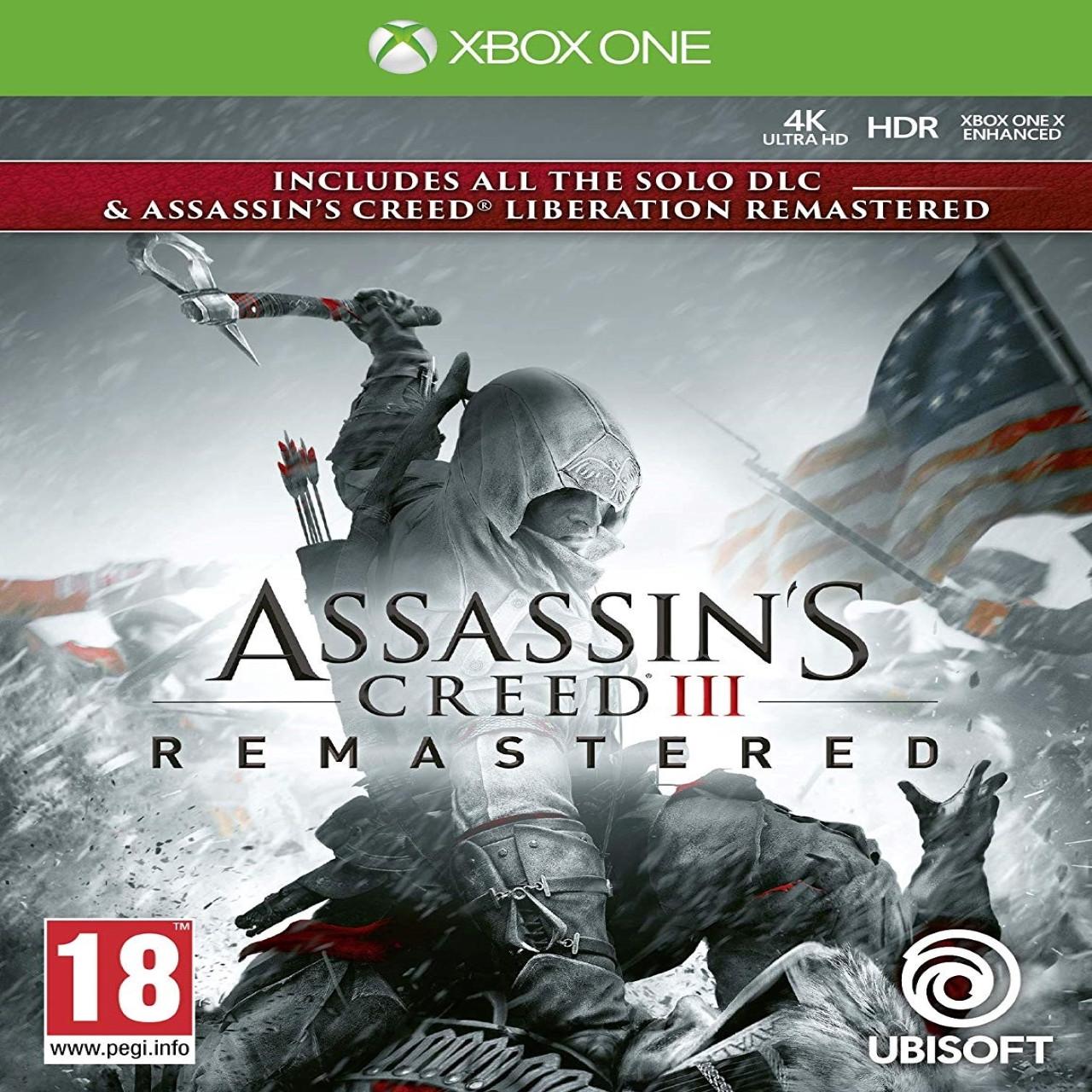 Assassin's Creed 3 Remastered (російська версія) Xbox One (Б/В)