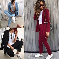 Костюм  брюки и пиджак  р: S-M и М-L