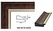 Дзеркало підлогове в рамі Factura з дерев'яною підставкою Dark brown 45х169 коричневий, фото 5
