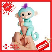 Интерактивная обезьянка Fingerlings  Zoe (Зеленая)