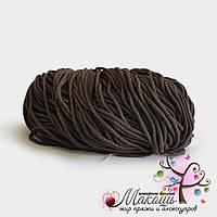 Полиэфирный шнур для вязания, 4 мм, хаки