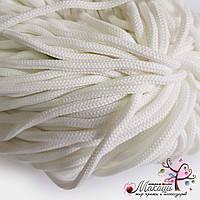 Полиэфирный шнур с сердечником, 5 мм (200 м), белый