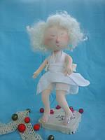 """Интерьерные текстильные куклы и игрушки """"Мэрлин Монро"""""""