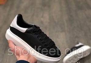 Мужские кроссовки Alexander McQueen Show Black White