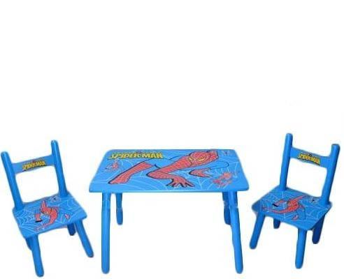 Столик M 0294 деревянный, 2 стульчика