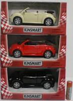 Машинка KINSMART KT 5073 W NEW BEETLE 2003, инерционная