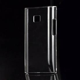 Чехол пластиковый на LG Optimus L3 E400, прозрачный