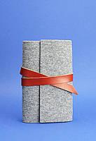 Кожаный блокнот BlankNote 1.0 Серый BN-SB-1-st-flt-k, КОД: 723797