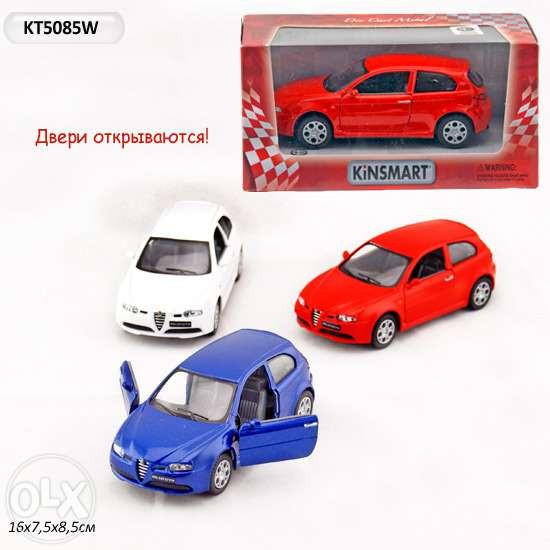 Машинка KINSMART KT 5085 W ALFA 147 GTA инерционная