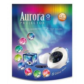 Ночник 6703 AURORA проектор северного сияния