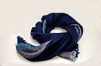 Шарф - плед  Joya 140 x 140 см Синий 982019, КОД: 390740