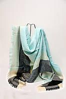 Шарф - плед  Joya 140 x 140 см Голубой 1342019, КОД: 390737
