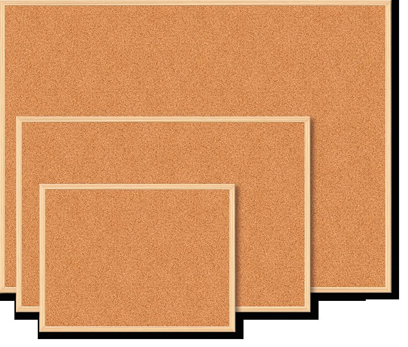"""Дошка коркова """"Buromax"""" 60х90см, деревяна рамка BM.0014"""