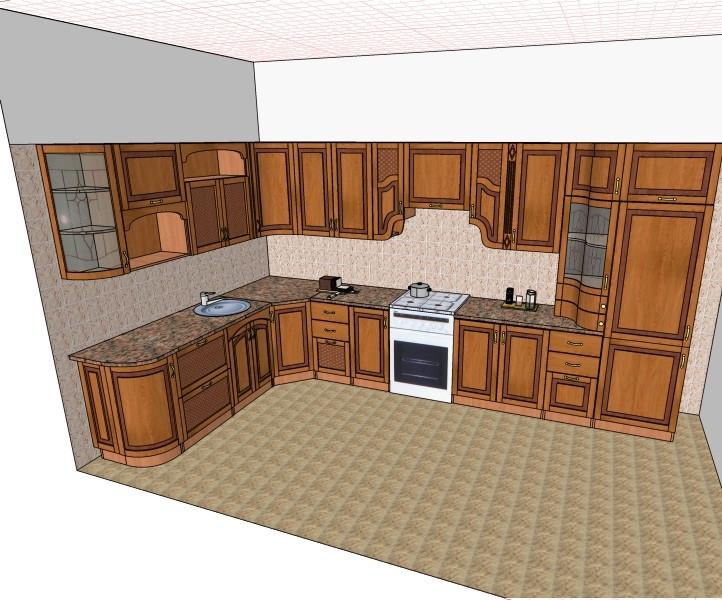 Кухня Юля Нова в Теофиполе