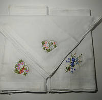 Носовые платки женские 29*29см ХБ