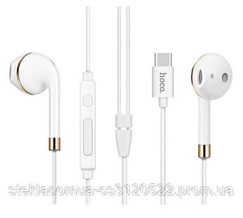 Гарнитура Hoco L8 Type-C bluetooth earphones White