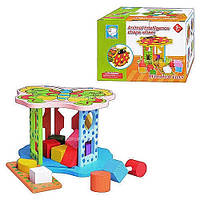 Деревянная игрушка Сортер MD 0334