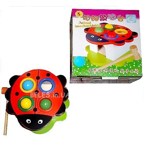 """Деревянная игрушка """"Стучалка"""" MD 0045"""