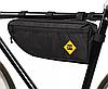 Велосипедная сумка B-SOUL треугольник под раму 40*13.5*5.5см