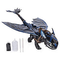 Интерактивный дракон Беззубик Дышит паром, светится Dragons, Giant Fire Breathing Toothless