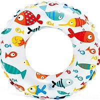 Детский надувной круг для плавания Intex 59241 61 см