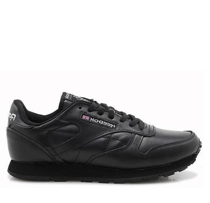 "Кроссовки Reebok Classic Leather ""All Black"" Арт. 0141 (Уценка)"