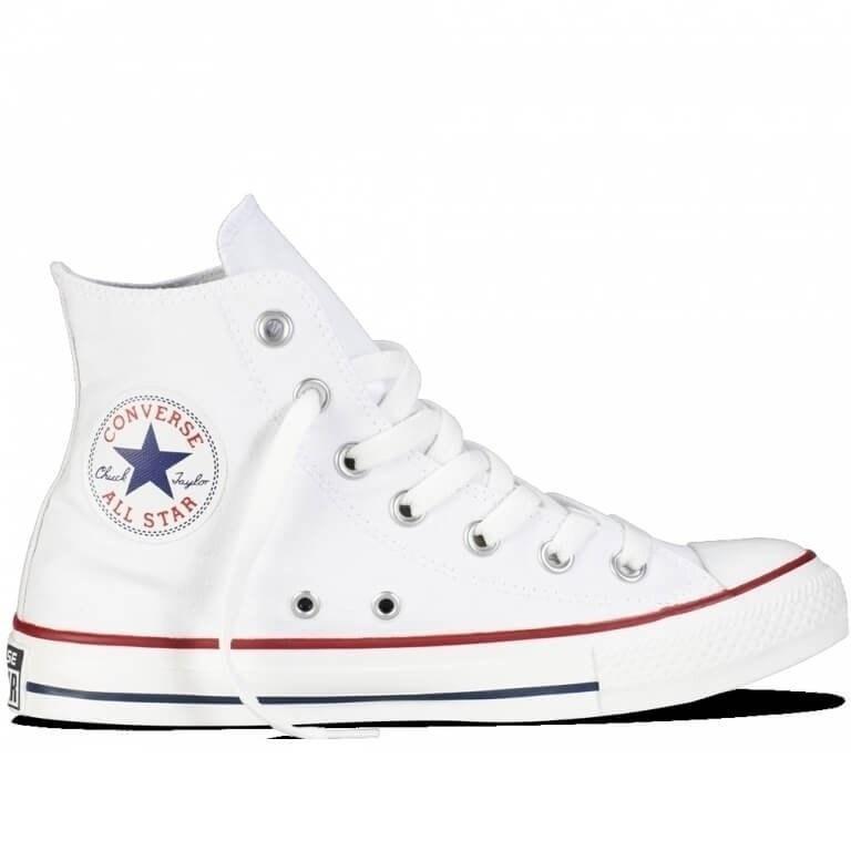 """Кеды Converse All Star White High """"White"""" Арт. 0329 (Уценка)"""