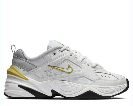 "Кроссовки Nike M2K Tekno ""Denim White/Sunshine Yellow"" Арт. 4212"